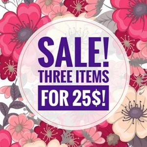 💥3 items for 25$💥